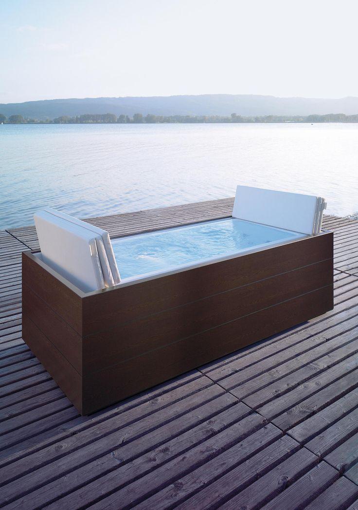 43 besten Terrasse Bilder auf Pinterest kleine Balkone, Wohnung - dachterrasse gestalten stadtoase wasserspielen miami