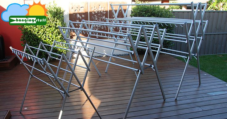 Hanging Stuff clothes airer washing line are lightweight portable aluminium rust proof clothes dryer rack suited for outdoor ind
