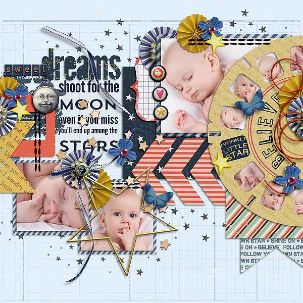 STARGAZER by ForeverJoy Designs and Studio Basic  http://scraporchard.com/market/STARGAZER-Digital-Scrapbook-Kit.html   http://www.sweetshoppedesigns.com/sweetshoppe/product.php?productid=27427&cat=664&page=3 Casablanca by Little Green Frog Designs  http://scraporchard.com/market/Casablanca-Digital-Scrapbook-Template.html