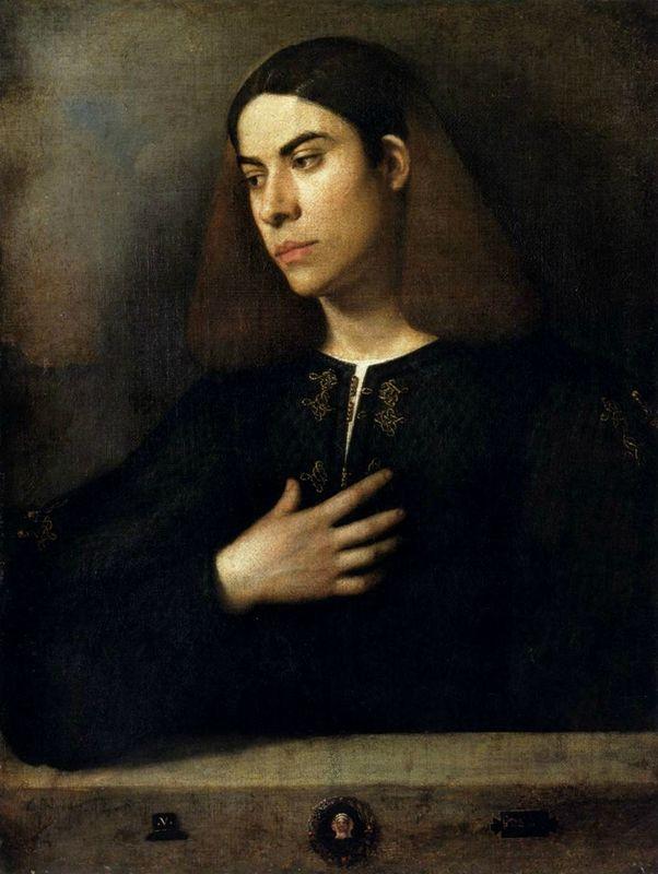Giorgione, Portrait of a Young Man