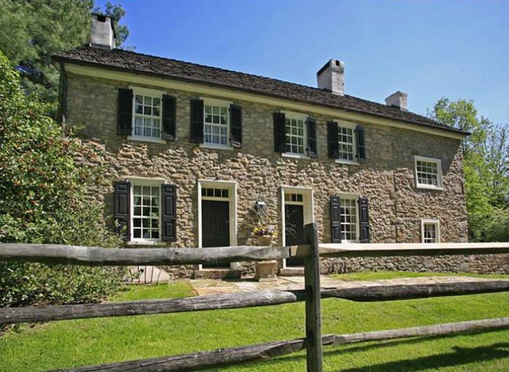 The john price house is an enchanting 200 year old stone for Old american houses