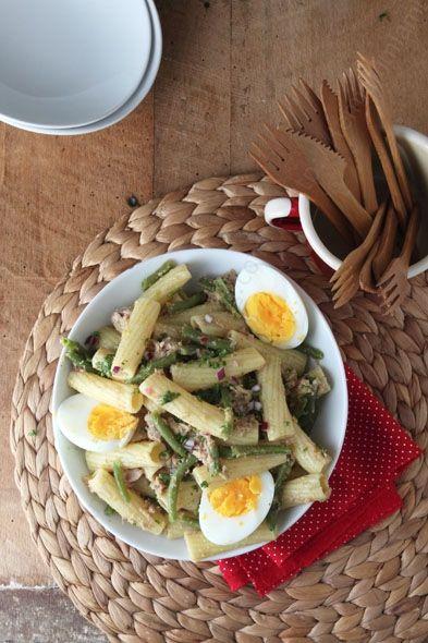 recette simple de salade de pates macaroni au thon vinaigrette originale 003 LE MIAM MIAM BLOG