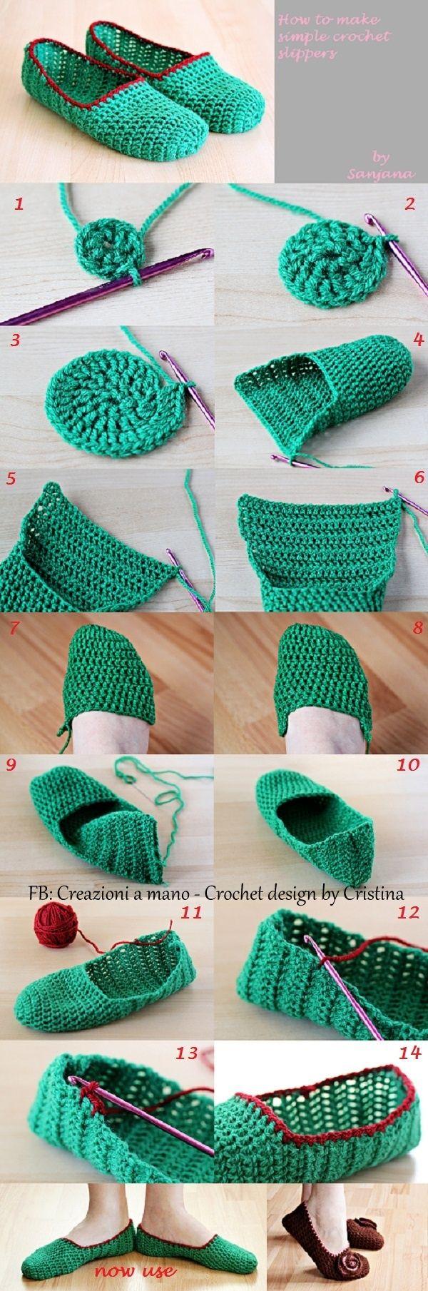 ballerine crochet tutorial