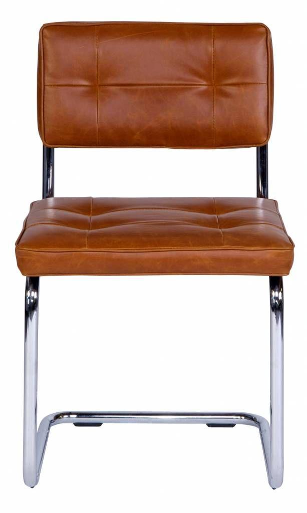 23 best eetkamer stoelen images on pinterest folding for Bauhaus stoel leer
