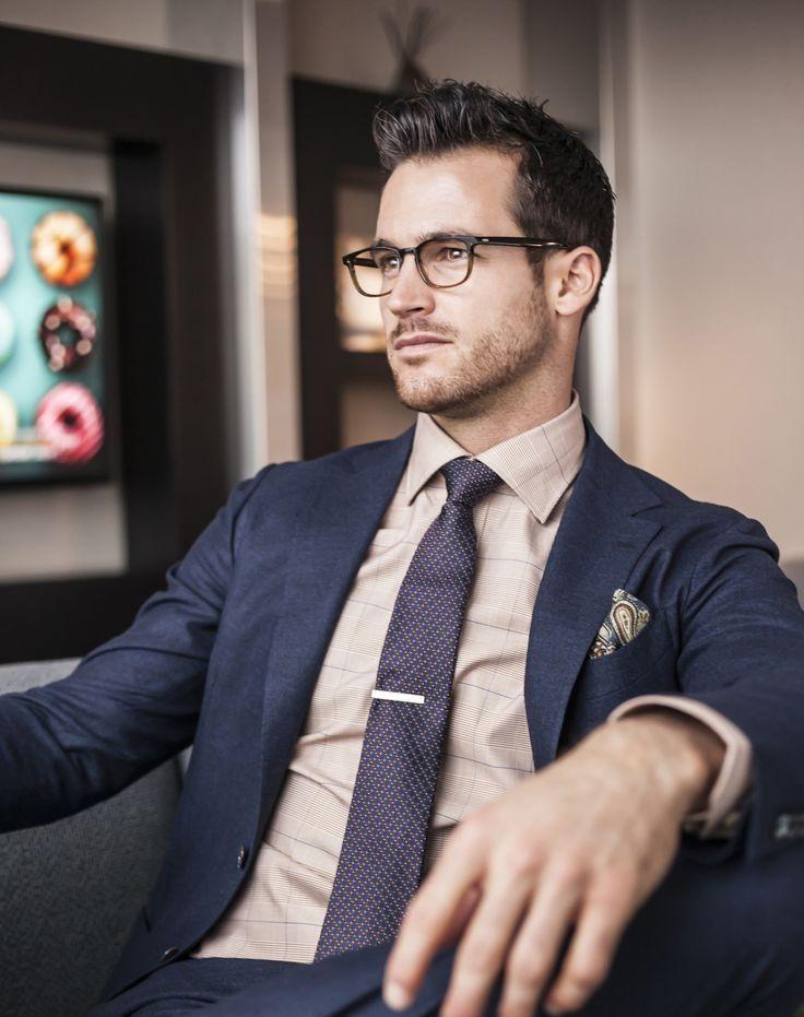 Как выбрать правильный классический мужской деловой костюм, сорочку и галстук! Советы стилиста!