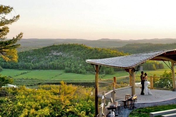 Canada's Loveliest Wedding Venues: Le Belvedere