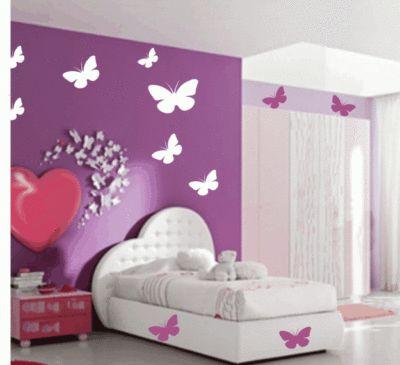 adesivo de parede de borboleta para quarto infantil