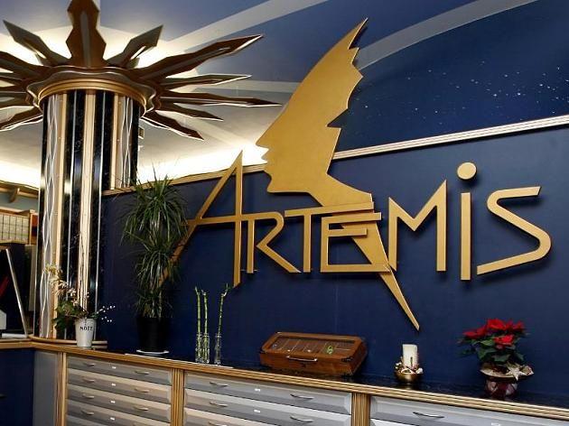 "Die Eingangshalle des Bordells ""Artemis"" in Berlin. Fotograf: Marcel Mettelsiefen/ Archiv"