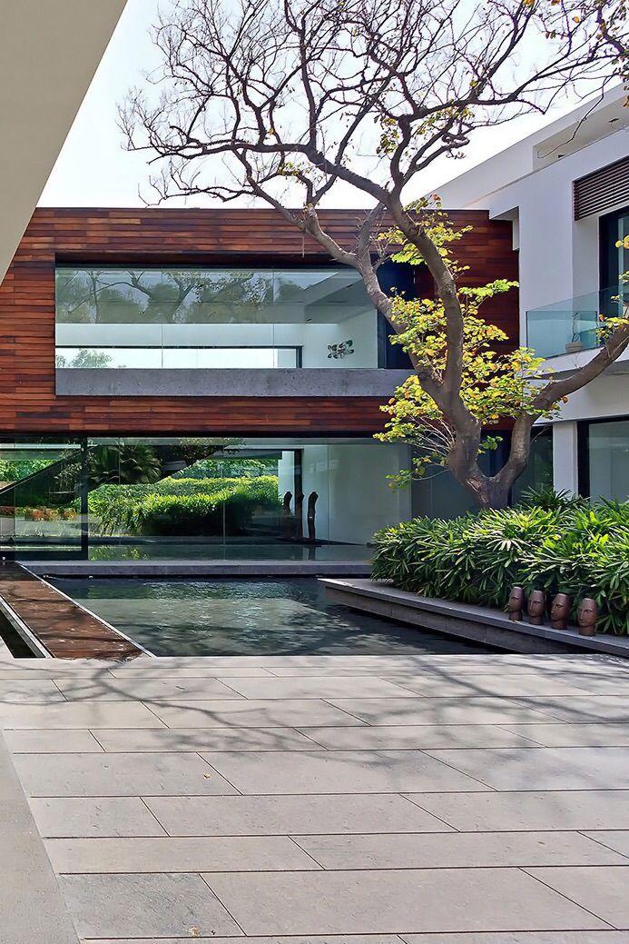 envibe three trees house location new delhi indiadesigned architecture house design - Architecture Design For Home In Delhi