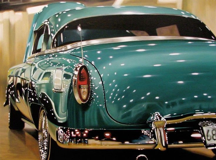 10 Best Cheryl Kelley Car Art Images On Pinterest Car Painting