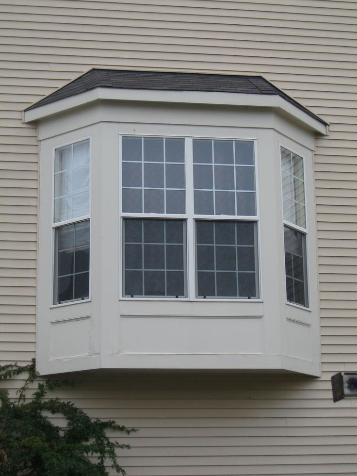 9 best bay windows images on pinterest bow windows bay for Bay window design ideas exterior