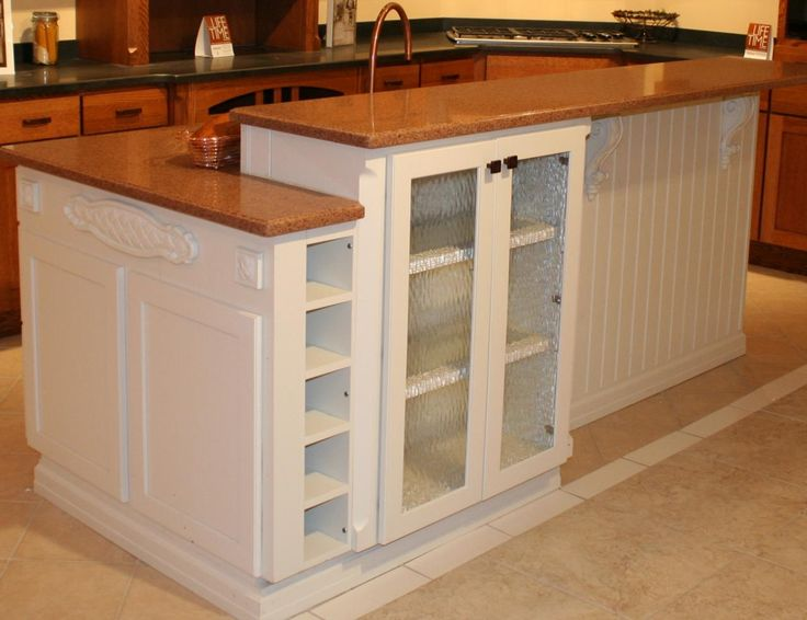 17 best images about kitchen islands on pinterest for 2 level kitchen island