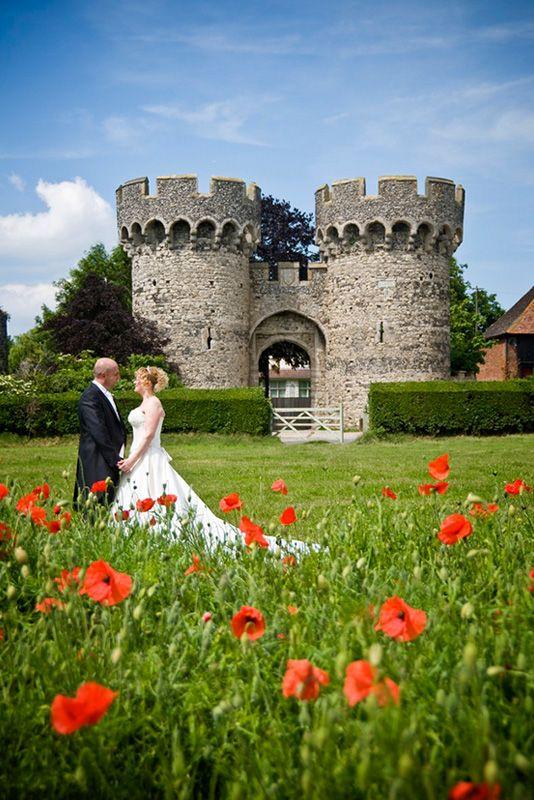 Cooling Castle Barn Wedding Venue In Kent