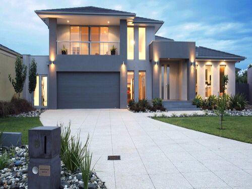 pretty concrete to extend the driveway