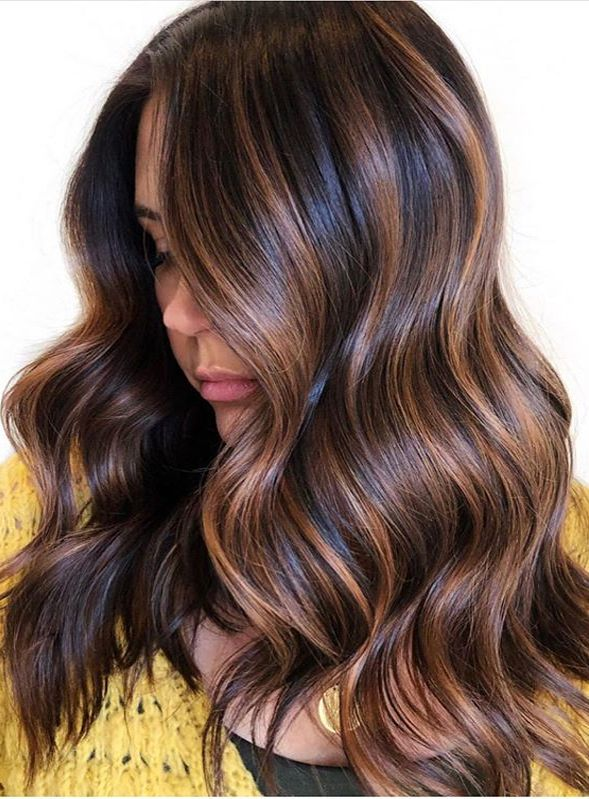 Best Chocolate Brown Hair Color Shades To Follow In 2020 Brown Hair Color Shades Brown Hair With Blonde Highlights Brunette Hair Color