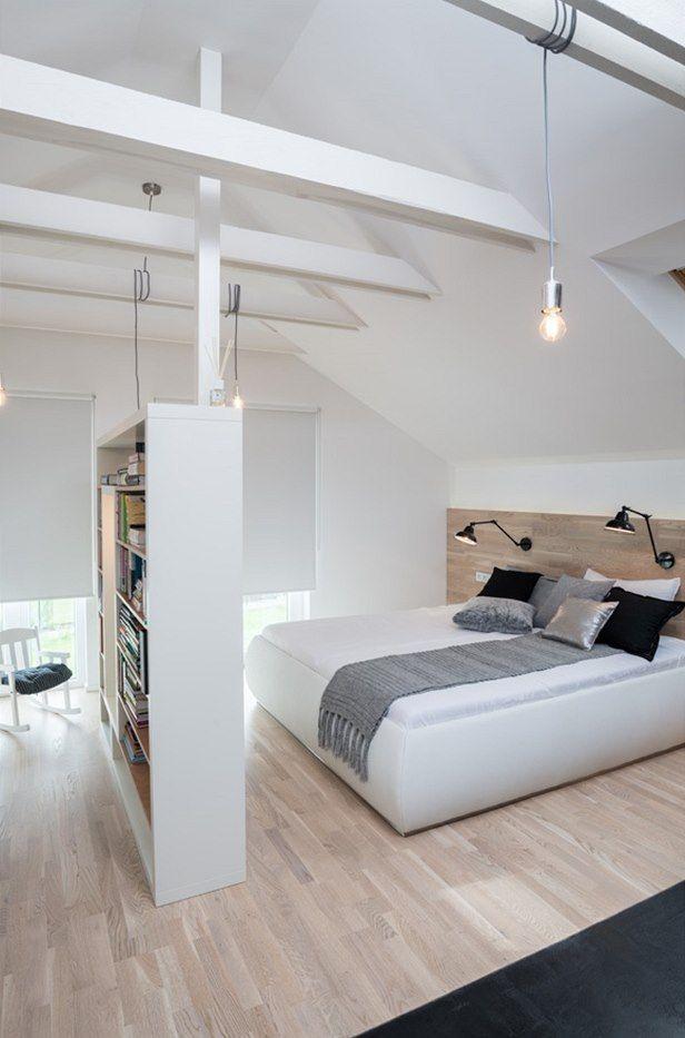 Hlavní ložnice v patře
