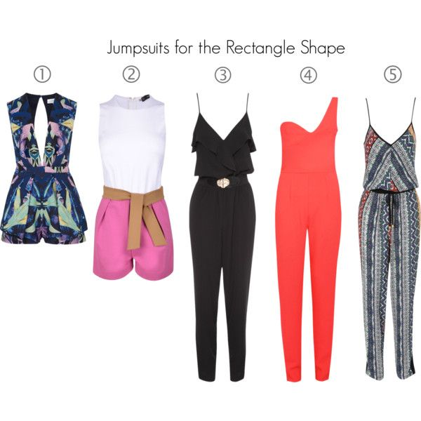 Jumpsuits Rectangle Body type by seepz-sc on Polyvore featuring Jane Norman, Boohoo, Dsquared2 and Finders Keepers