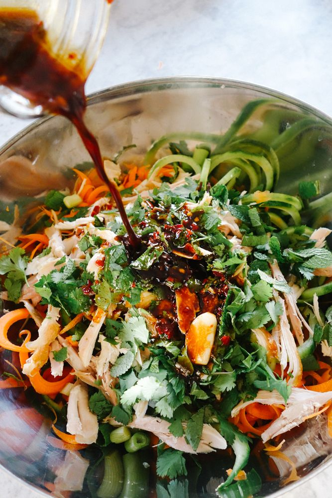 Pad Thai Salad (Low Carb!) - The Londoner