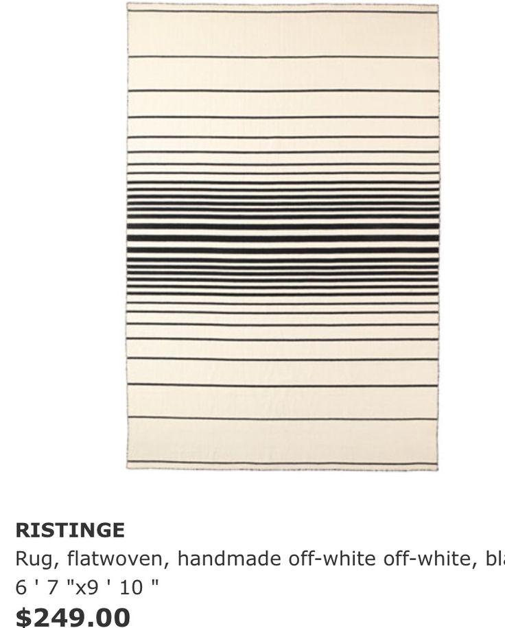 Ikea rustinge rug 6x9 250 flatwoven rugs handmade