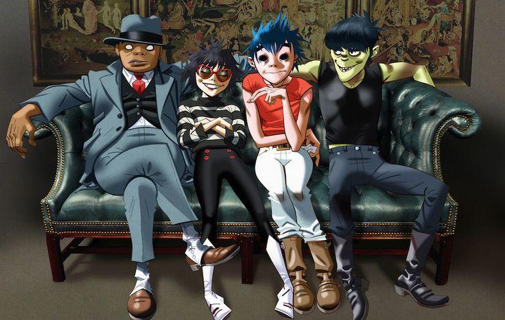 ゴリラズ、新作『ヒューマンズ』の詳細を発表&新曲4曲を公開 | NME Japan