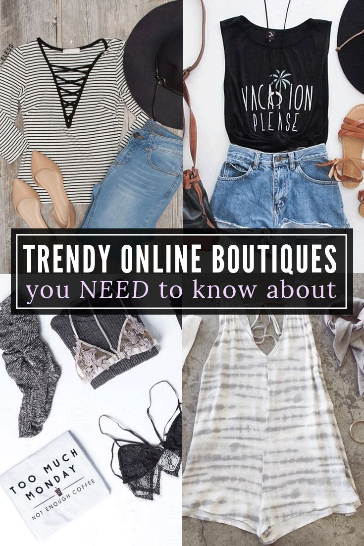 Trendy Online Boutiques You Need To Know About