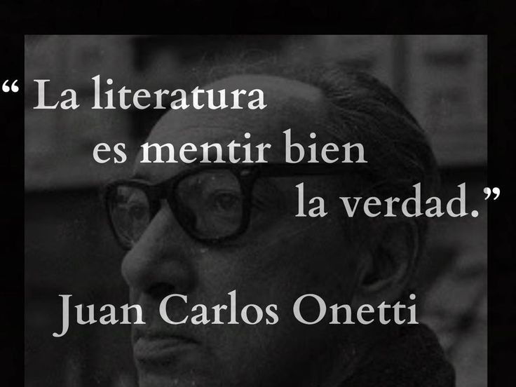 Juan Carlos Onetti.