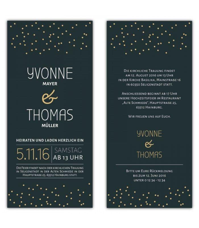 1000+ Ideas About Einladungskarten Hochzeit Günstig On Pinterest,  Einladungsentwurf