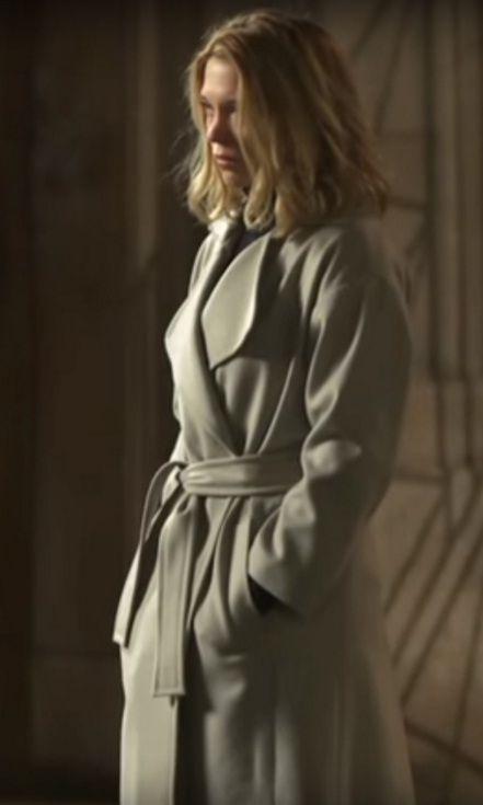 Léa Seydoux trench coat designer spectre - Google Search