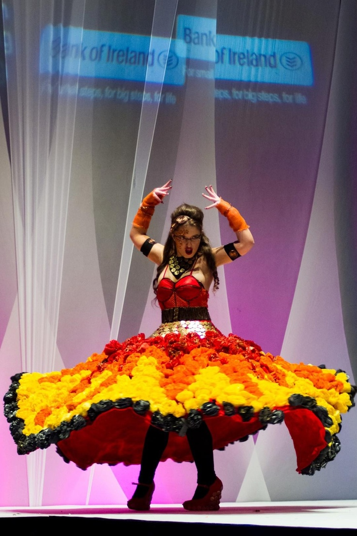 Supernova at the Junk Kouture final 2013