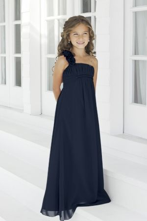 Junior Bridesmaid Dresses, Flower Girl, Special Occasion Dresses by Alexia Designs in Navy