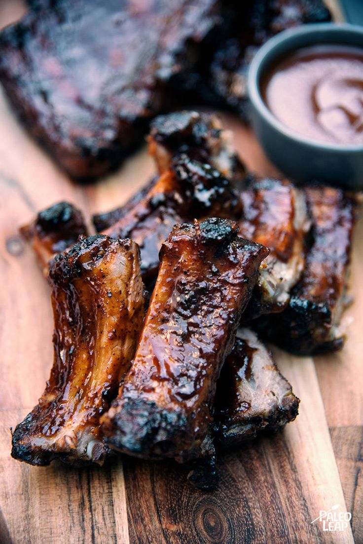 Barbecued St. Louis Style Ribs
