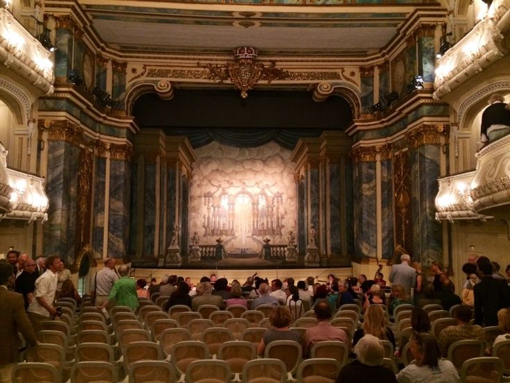 Rokokotheater in Schwetzingen, Baden-Württemberg