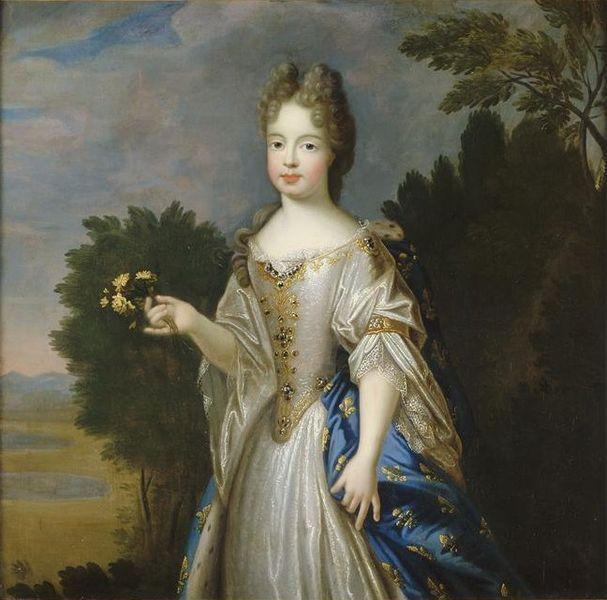 Marie-Adélaïde de Savoie, duchesse de Bourgogne (1785-1712), 1700 by Pierre Gobert (1662-1744)