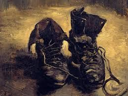 """un paio di scarpe"", olio su tela, Baltimora, The Baltimore Museum of Art, 1887."