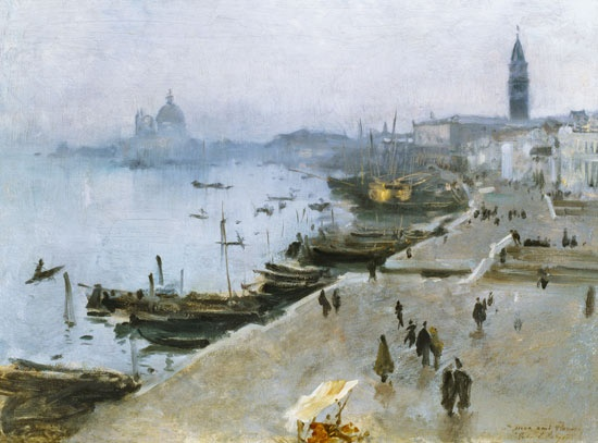 John Singer Sargent - Venice in Grey Weather