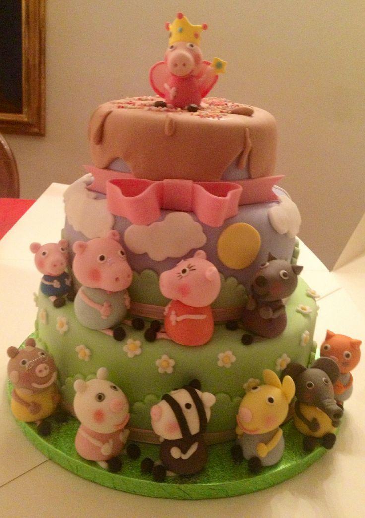 Pepp pig cake 2