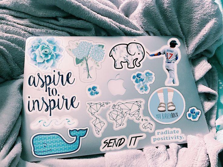 pinterest // sydneyoliviaaa 🤪 Macbook stickers, Macbook