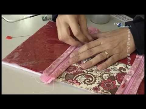 CRIANDO IDEIAS 15 06 16 PORTA MAQUIAGEM - YouTube