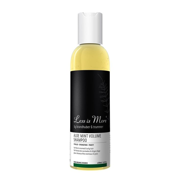 Ohuet Hiukset | Less is More Tuuheuttava Shampoo