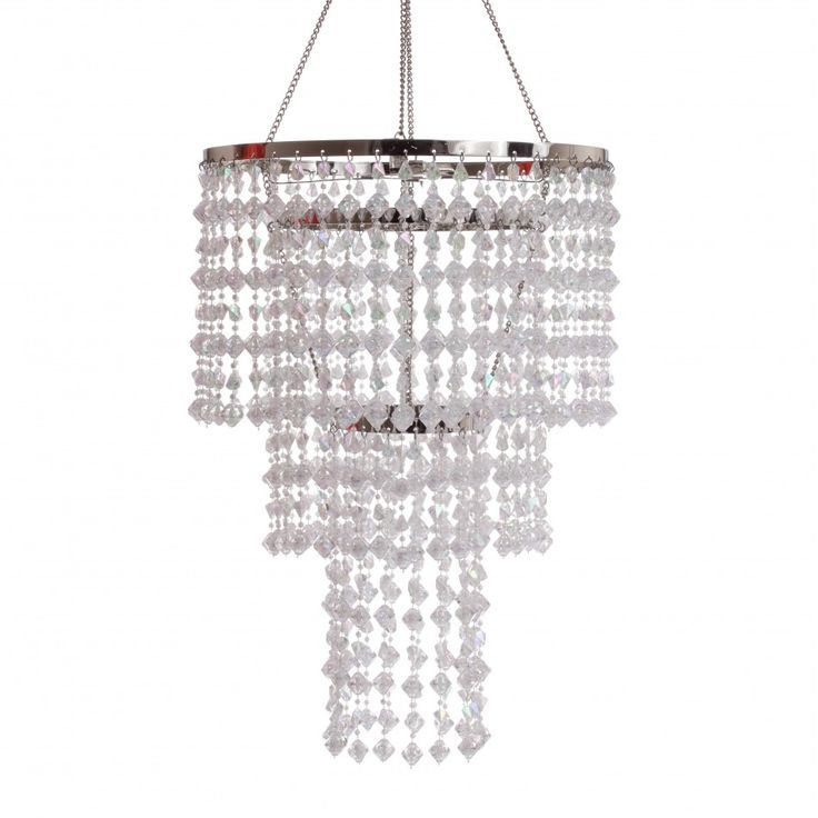 Tiered Crystal Chandelier. Contact ABC Rentals to rent items for your wedding or special event. #SiouxFallsWedding #TentWedding