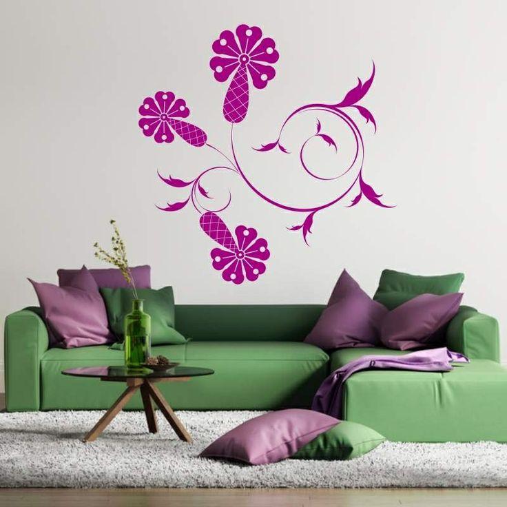 Szablon malarski - Roślina | Paint template - Plant | 35,49 PLN #paint #template #flower #plant #home_decor #interior_decor #design #wall_decor #szablon #szablon_malarski #kwiat #roślina #dekoracja_ściany #dekoracja_wnętrza