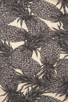 overlapping pineapples / mina bach