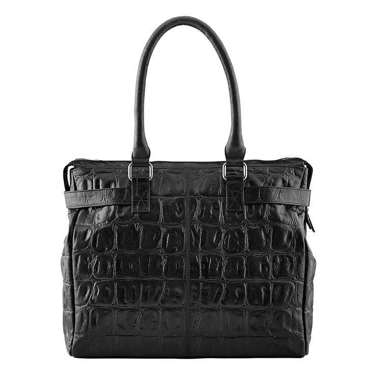 Sensual Fusion, medium bag, style 11098. Black.