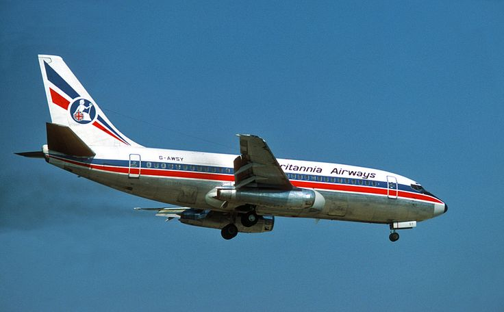 Britannia Airways Boeing 737