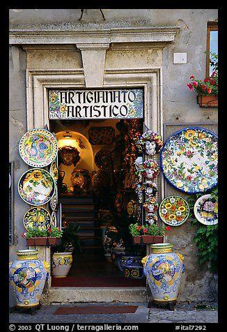 Ceramics Shop, Orvieto, Umbria