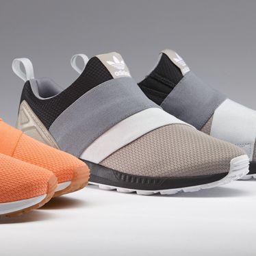 Customize adidas zx flux slip on
