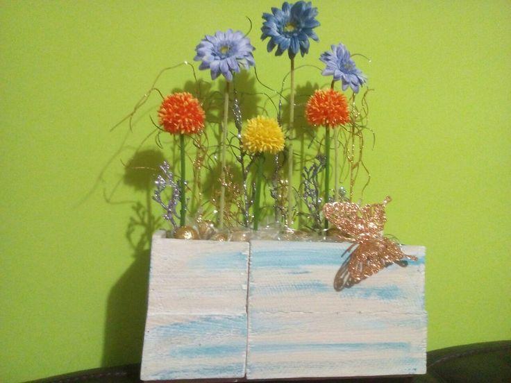 Skrzynka z kwiatami