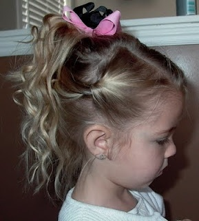 Best 25 little girl updo ideas on pinterest flower girl jardindejoy little girls hairstyles fancy easy updo for your big or little gal pmusecretfo Gallery