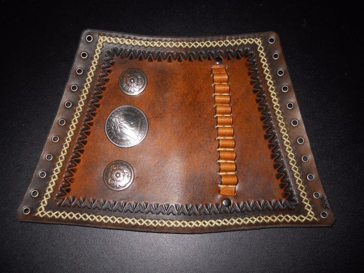 Custom Leather Gun Stock Cover Cuff  Henry 22