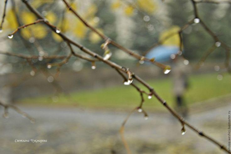 """Купить Фотокартины из серии """"Капли осени"""" - фотокартина, природа, пейзаж, вода, фотокартина для интерьера"""